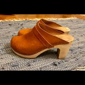 Swedish Hasbeens Clogs - Slip In Classic Nature